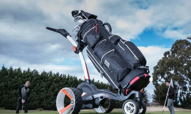 MGi Zip X3 Electric golf trolley