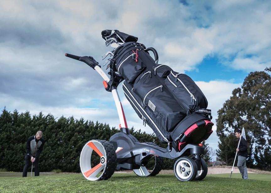 MGi Zip X3 Electric golf trolley